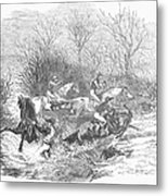 Steeplechase, 1847 Metal Print