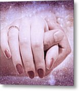 Stellar Bonds Metal Print