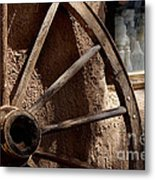 Stepping Back In Time Metal Print
