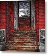 Steps To The Past Metal Print