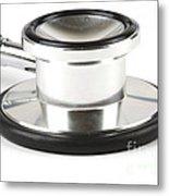 Stethoscopes Diaphragm Metal Print by Photo Researchers, Inc.