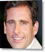 Steve Carell At Arrivals For The 40 Metal Print