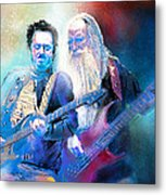 Steve Lukather And Leland Sklar From Toto 02 Metal Print