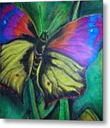 Still Butterfly Metal Print