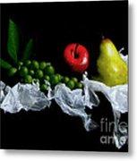 Still Fruits Metal Print