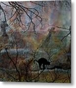 Still In There Metal Print by Shirley Sirois