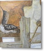 Still Life Of Beach Thoughts Metal Print by Delores Swanson