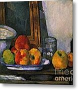 Still Life With An Open Drawer Metal Print