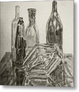 Still Life With Reflections Metal Print