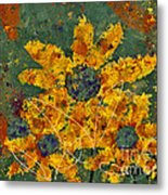 Stimuli Floral - S04ct01 Metal Print by Variance Collections
