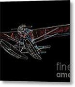 Stinson Sr Reliant Float Plane Metal Print