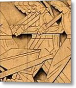 Stock Exchange Art Metal Print