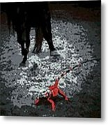 Stomping Mad Metal Print