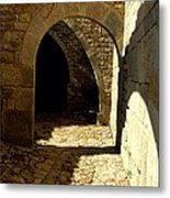 Stone And Shadows Metal Print