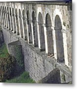 Stone Arches And Shadows Metal Print