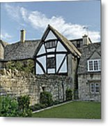 Stone Cottages In Broadway - Gloucestershire Metal Print