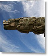 Stone Dragon Metal Print