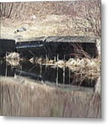 Stone Reflections Metal Print