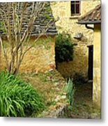 Stone Stairs To Hamlet Metal Print