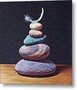 Stone Tower 1 Metal Print by Elena Kolotusha