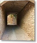 Stoned Tunnel Metal Print