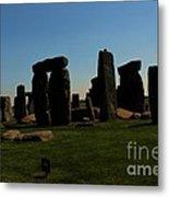 Stonehenge England Metal Print