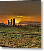 Stonehenge Of The Heartland Metal Print