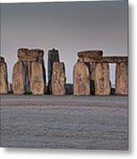 Stonehenge Wiltshire Metal Print