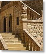 Stones And Stairs Metal Print