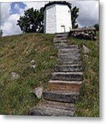 Stony Point Lighthouse Stony Point Ny Metal Print