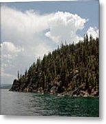 Storm Ahead Lake Tahoe Metal Print