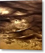 Storm Approaches Metal Print