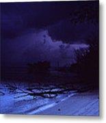 Storm At Dawn Metal Print by Bob Whitt