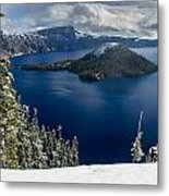 Storm Clearing At Discovery Point Metal Print