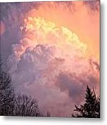 Storm Cloud Moving In On West Michigan Metal Print
