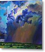 Storm Clouds Over Missouri Metal Print