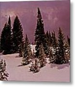 Storm Clouds Over The Monte Cristo Summit Metal Print