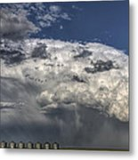 Storm Clouds Thunderhead Metal Print by Mark Duffy