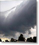 Storm Front At Rachel's Farm Metal Print
