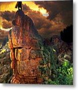 Storm On Buckhorn Mountain Metal Print by Ric Soulen