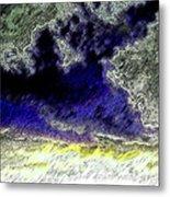 Storm On The Landscape Metal Print