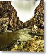 Storm On The Wind River Metal Print