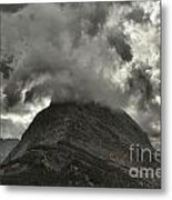 Storm Over Grinnell Metal Print