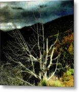 Storm Over The Jemez Mountains Metal Print