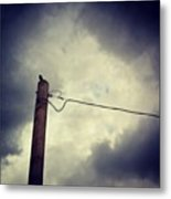 #storm Watcher Metal Print
