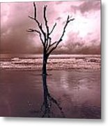 Storms Are Comming Metal Print