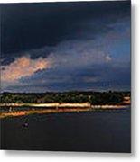 Storms Over Sardis Metal Print