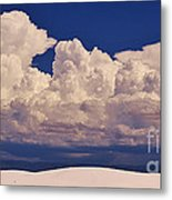 Storms Over The Mountains Metal Print