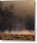 Stormwalk Metal Print