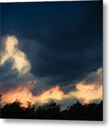 Stormy Sunset  1206 Metal Print